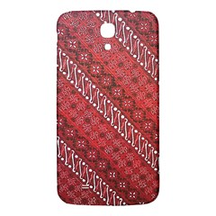 Red Batik Background Vector Samsung Galaxy Mega I9200 Hardshell Back Case by BangZart