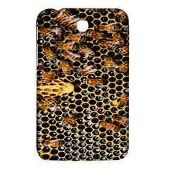 Queen Cup Honeycomb Honey Bee Samsung Galaxy Tab 3 (7 ) P3200 Hardshell Case  by BangZart