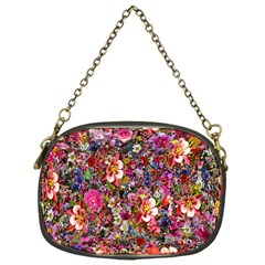Psychedelic Flower Chain Purses (one Side)  by BangZart