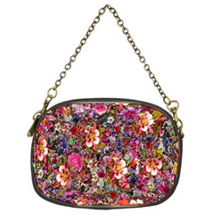 Psychedelic Flower Chain Purses (two Sides)  by BangZart