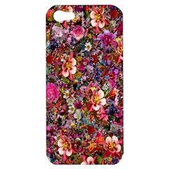Psychedelic Flower Apple Iphone 5 Hardshell Case by BangZart