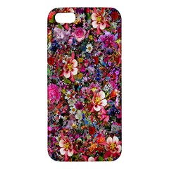 Psychedelic Flower Iphone 5s/ Se Premium Hardshell Case by BangZart