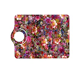 Psychedelic Flower Kindle Fire Hd (2013) Flip 360 Case by BangZart