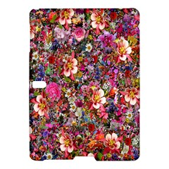 Psychedelic Flower Samsung Galaxy Tab S (10 5 ) Hardshell Case  by BangZart
