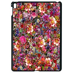 Psychedelic Flower Apple Ipad Pro 9 7   Black Seamless Case by BangZart