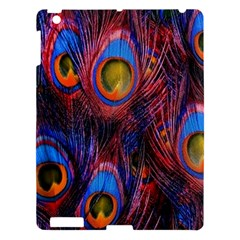 Pretty Peacock Feather Apple Ipad 3/4 Hardshell Case by BangZart