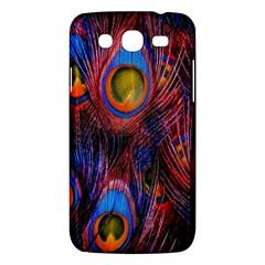 Pretty Peacock Feather Samsung Galaxy Mega 5 8 I9152 Hardshell Case  by BangZart