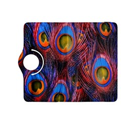 Pretty Peacock Feather Kindle Fire Hdx 8 9  Flip 360 Case by BangZart