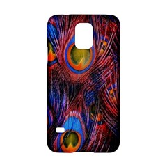 Pretty Peacock Feather Samsung Galaxy S5 Hardshell Case  by BangZart