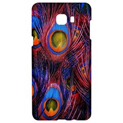 Pretty Peacock Feather Samsung C9 Pro Hardshell Case  by BangZart