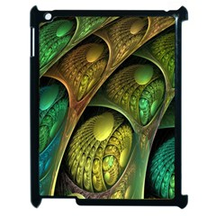 Psytrance Abstract Colored Pattern Feather Apple Ipad 2 Case (black) by BangZart