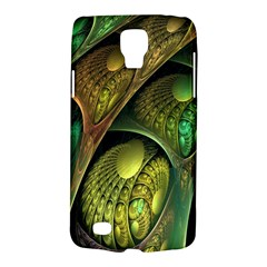 Psytrance Abstract Colored Pattern Feather Galaxy S4 Active by BangZart