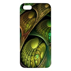 Psytrance Abstract Colored Pattern Feather Iphone 5s/ Se Premium Hardshell Case by BangZart