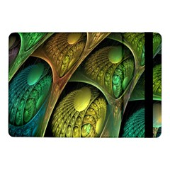 Psytrance Abstract Colored Pattern Feather Samsung Galaxy Tab Pro 10 1  Flip Case by BangZart
