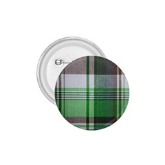 Plaid Fabric Texture Brown And Green 1 75  Buttons by BangZart