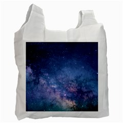 Galaxy Nebula Astro Stars Space Recycle Bag (two Side)  by paulaoliveiradesign