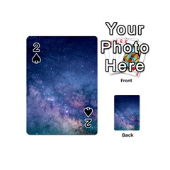 Galaxy Nebula Astro Stars Space Playing Cards 54 (mini)  by paulaoliveiradesign