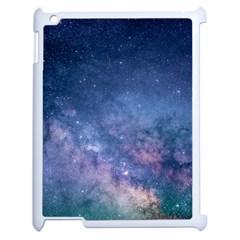 Galaxy Nebula Astro Stars Space Apple Ipad 2 Case (white) by paulaoliveiradesign