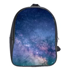 Galaxy Nebula Astro Stars Space School Bags (xl)  by paulaoliveiradesign