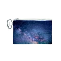 Galaxy Nebula Astro Stars Space Canvas Cosmetic Bag (s) by paulaoliveiradesign