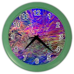 Poetic Cosmos Of The Breath Color Wall Clocks by BangZart