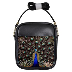 Peacock Girls Sling Bags by BangZart