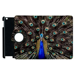 Peacock Apple Ipad 3/4 Flip 360 Case by BangZart