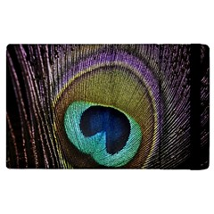 Peacock Feather Apple Ipad 2 Flip Case by BangZart
