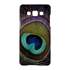 Peacock Feather Samsung Galaxy A5 Hardshell Case  by BangZart