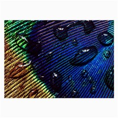 Peacock Feather Retina Mac Large Glasses Cloth (2 Side) by BangZart