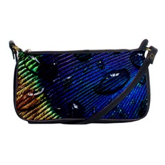 Peacock Feather Retina Mac Shoulder Clutch Bags by BangZart