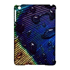 Peacock Feather Retina Mac Apple Ipad Mini Hardshell Case (compatible With Smart Cover) by BangZart
