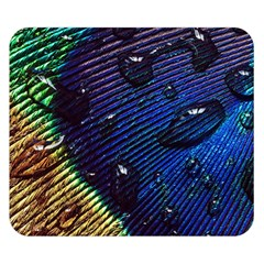 Peacock Feather Retina Mac Double Sided Flano Blanket (small)  by BangZart