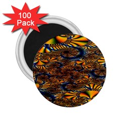 Pattern Bright 2 25  Magnets (100 Pack)  by BangZart