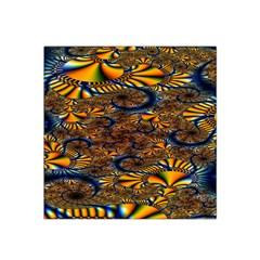 Pattern Bright Satin Bandana Scarf