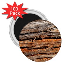 Natural Wood Texture 2 25  Magnets (100 Pack)  by BangZart