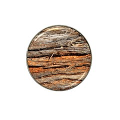 Natural Wood Texture Hat Clip Ball Marker (10 Pack) by BangZart