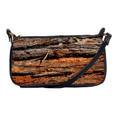 Natural Wood Texture Shoulder Clutch Bags by BangZart