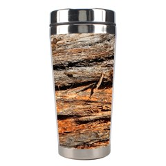 Natural Wood Texture Stainless Steel Travel Tumblers by BangZart