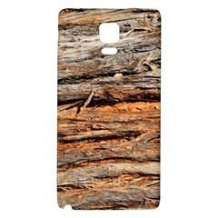 Natural Wood Texture Galaxy Note 4 Back Case by BangZart