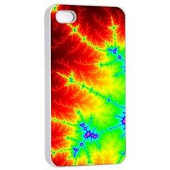 Misc Fractals Apple Iphone 4/4s Seamless Case (white) by BangZart