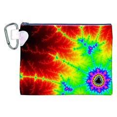 Misc Fractals Canvas Cosmetic Bag (xxl) by BangZart