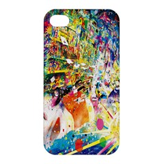 Multicolor Anime Colors Colorful Apple Iphone 4/4s Hardshell Case by BangZart