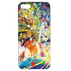 Multicolor Anime Colors Colorful Apple Iphone 5 Hardshell Case With Stand by BangZart