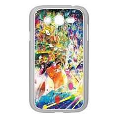 Multicolor Anime Colors Colorful Samsung Galaxy Grand Duos I9082 Case (white)
