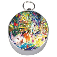 Multicolor Anime Colors Colorful Silver Compasses by BangZart