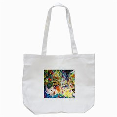 Multicolor Anime Colors Colorful Tote Bag (white) by BangZart