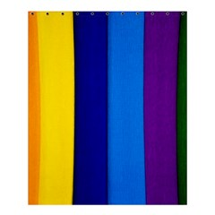 Paper Rainbow Colorful Colors Shower Curtain 60  X 72  (medium)  by paulaoliveiradesign