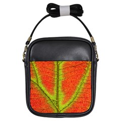 Nature Leaves Girls Sling Bags by BangZart