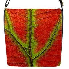 Nature Leaves Flap Messenger Bag (s) by BangZart
